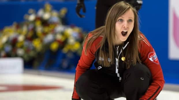Team Ontario skip Rachel Homan remains undefeated through the first 11 draws at the 2013 Scotties Tournament of Hearts in Kingston, Ont.