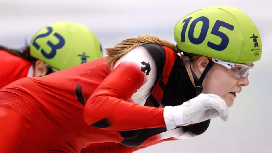 Jessica Gregg, shown in ths file photo, took gold in Montreal on Saturday.