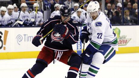 Canucks beat Blue Jackets in SO, snap 4-game skid