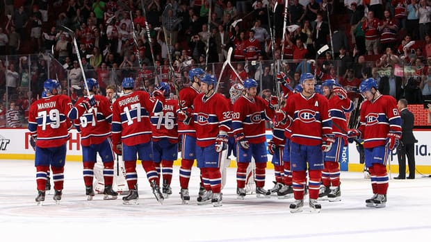 habs are knocked out of the playoffs