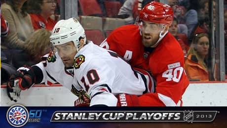 Watch & Chat: Blackhawks at Red Wings, Game 4