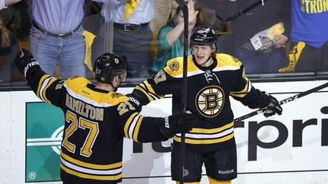 Bruins' rookie defencemen getting job done