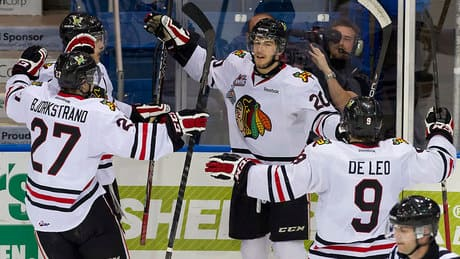 Winterhawks chase Knights goalie in Memorial Cup win