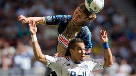 Whitecaps fall to Union for 2nd straight defeat