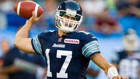 Zach Collaros tosses 3 TDs as Argos cruise past Lions