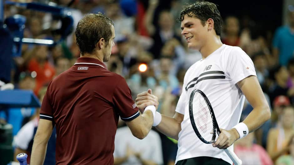 Gasquet sañuda Raonic - US Open '13 - cbc.ca