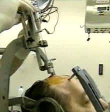 Image of a person undergoing the treatment.