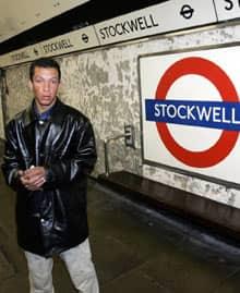 Cousin of De Menezes at Stockwell tube station