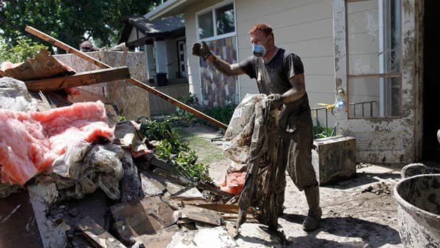 Some High River homeowners got their first chance to see the state of their properties after the Alberta floods