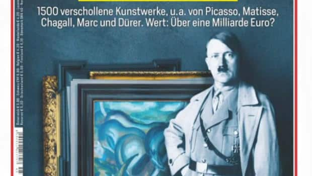 Works by Matisse, Picasso and Chagall hidden in a shabby Munich apartment behind stacks of canned food