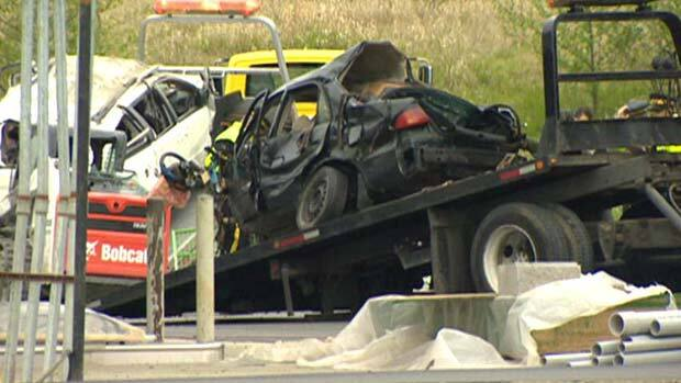 Highway crash kills 5