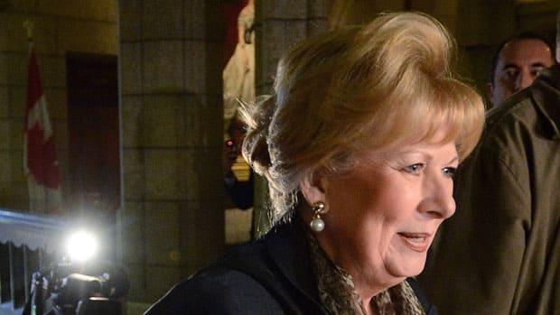 Pamela Wallin Attacks Fellow Senators In Emotional Speech Cbc News