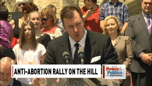 Politics - Anti-abortion rally