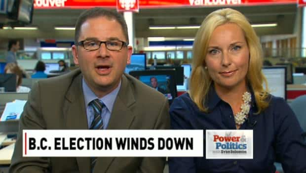 Politics - B.C. election winds down