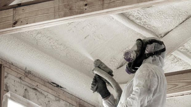 Spray foam insulation can make some homes unlivable cbc news play spray foam insulation solutioingenieria Image collections
