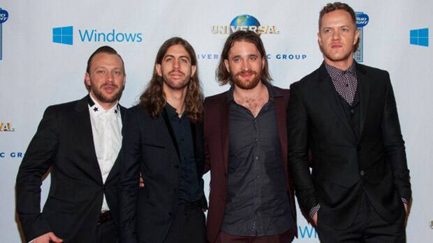 Entertainment - Imagine Dragons to play Grey Cup halftime