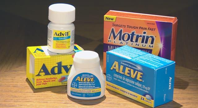 NSAID pain relievers' heart wa...