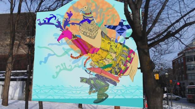 Arts - Mural dreams crumble for Nunavut and Toronto teens