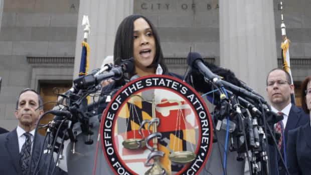 The National - Charges Announced in Freddie Gray Case