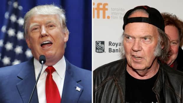 News - A rockin' Donald Trump ruffles Neil Young's feathers