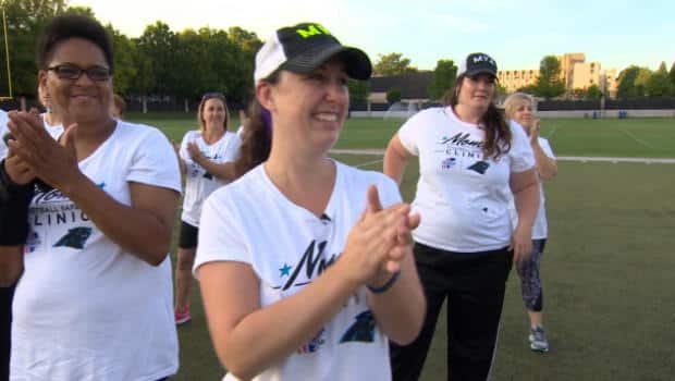 The National - U.S. moms tackle concussions at pro-safety football camp