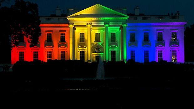 News - Rainbow White House celebrates same-sex marriage ruling
