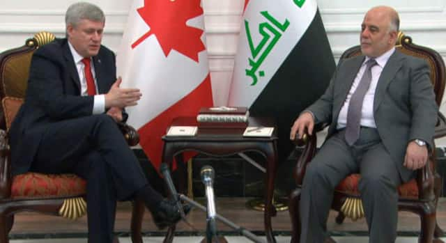 The National - Stephen Harper pledges $139M in aid during Iraq visit