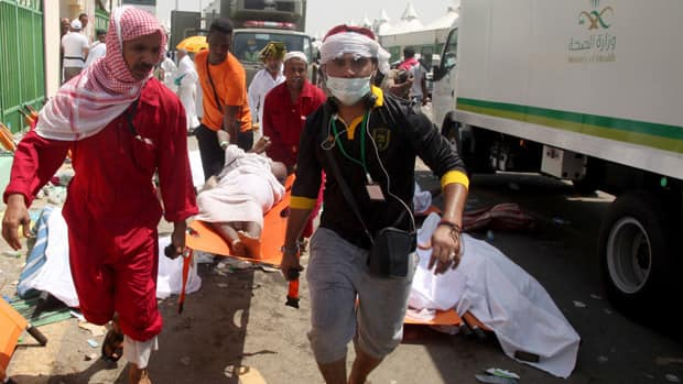 News - Hajj stampede kills over 700 pilgrims