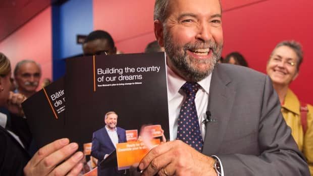 Politics - NDP looking for a rebound