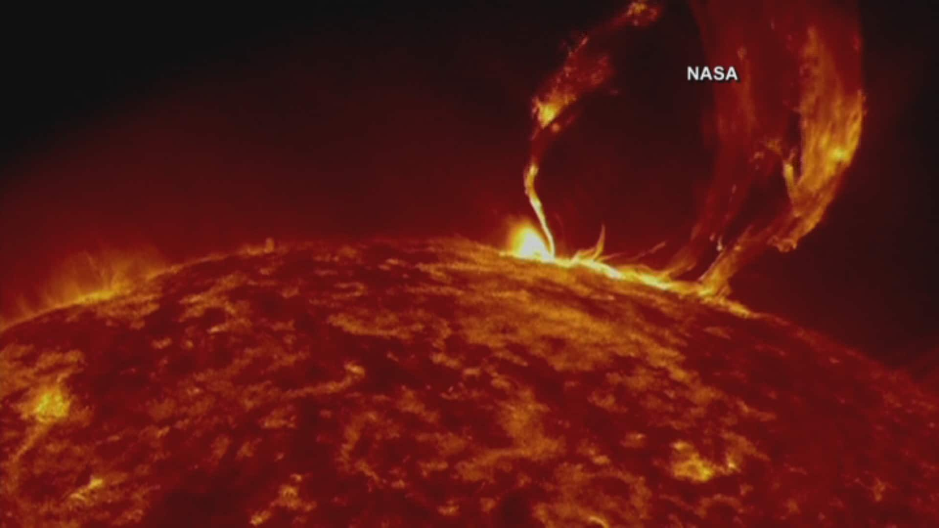 Must Watch - Giant solar flare