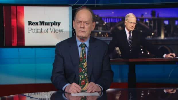 The National - David Letterman's Departure | Rex Murphy