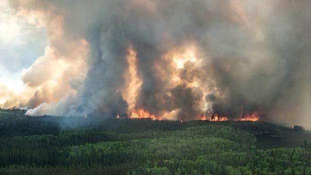 The National - Saskatchewan's raging wildfires