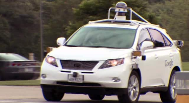 Technology - Self-driving car test drive