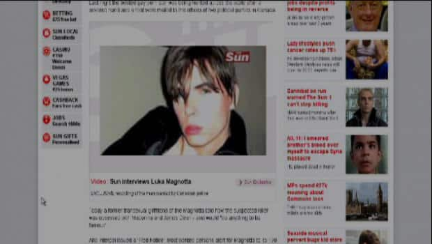 Luka Magnotta S U K Sun Interview Cbc News