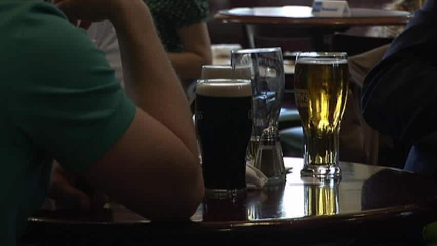 A new study suggests drinking too much alcohol may account for 10 per cent of cancer cases in men and three per cent in women