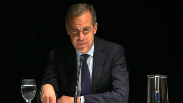 Money - Carney's parting shot