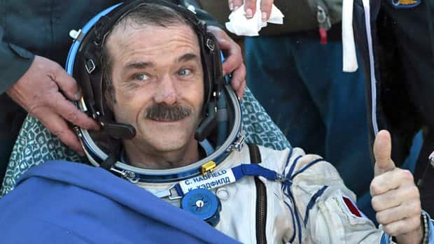 Technology - Chris Hadfield in Houston