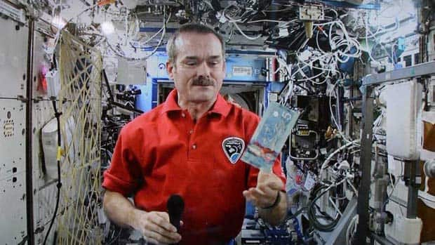 Science - Hadfield's last day