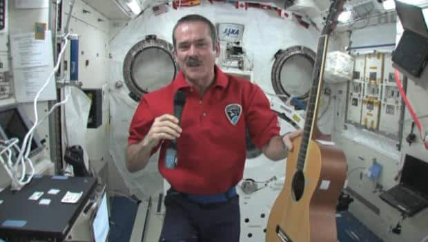Music - Music Monday on space station