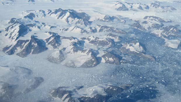 A study shows Greenland's ice sheets are melting at a rate five times faster than they were in 1990s