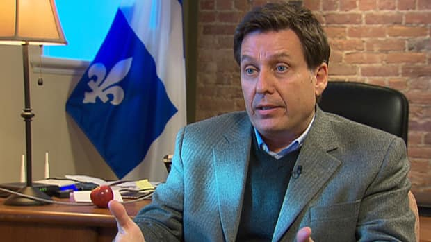News - PLQ leadership candidate Pierre Moreau