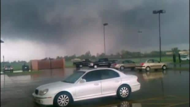 Weather - Tornado eyewitness
