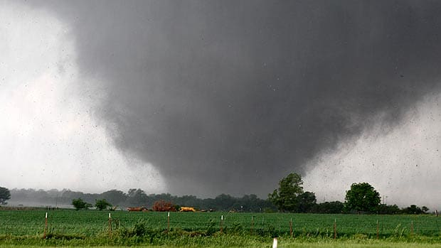 The National - Pulverizing Oklahoma tornado