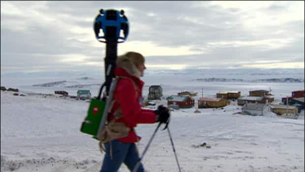 The National - Google-mapping Iqaluit