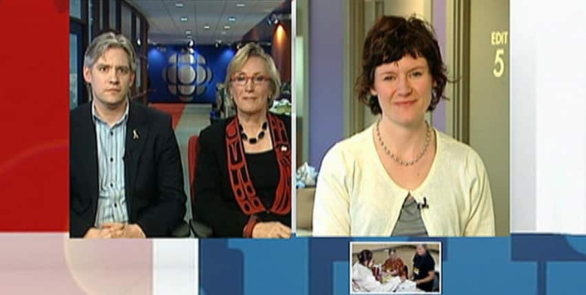 Conservative Mike Lake, Liberal Carolyn Bennett and New Democrat Megan Leslie discuss the funding challenges for Canada's public health-care system
