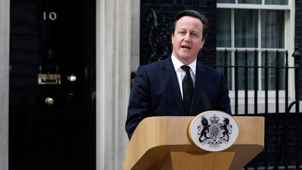 Politics - British PM comments on the death of Margaret Thatcher
