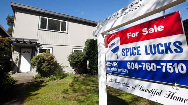 Money - Canadian housing market flat