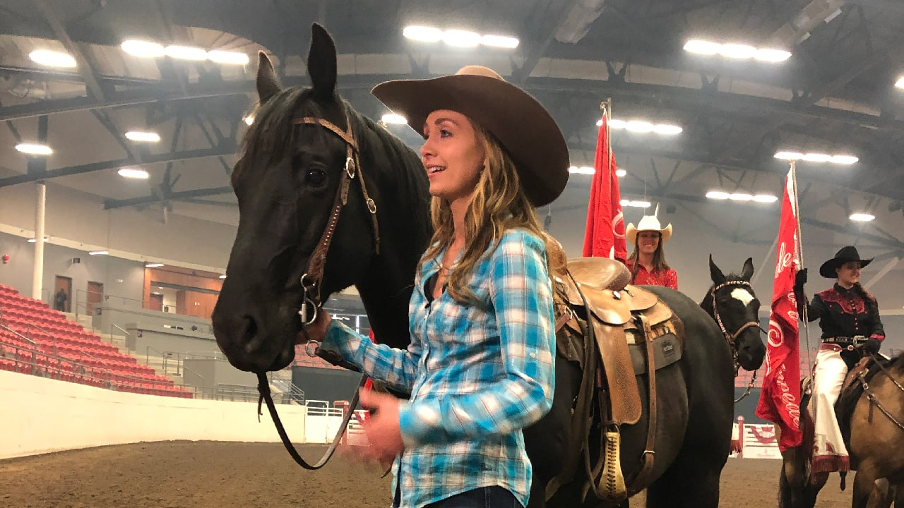 Amber Marshall is the Calgary Stampede Parade Marshal for 2019!