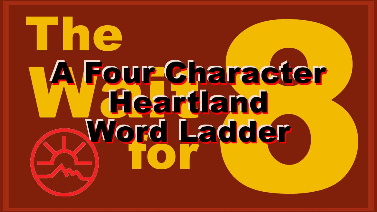 Four Letter Character Names In Todays Word Ladder Heartland