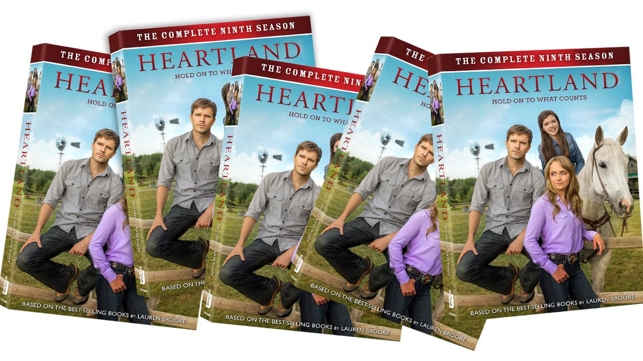 Heartland on CBC and Entertainment One DVD giveaway